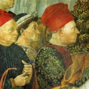 Франческо Сфорца (Francesco Sforza (1401-1466) - в центре