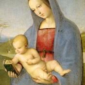 Изабелла Арагонская, герцогиня Милана, как Дева с младенцем