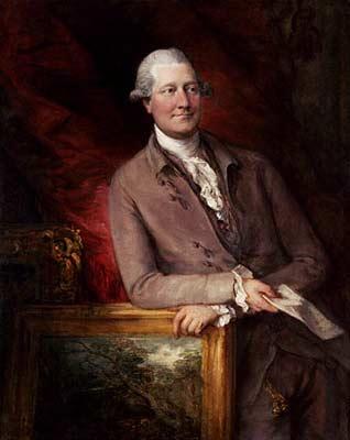 Портрет Джеймса Кристи ( James Christie, 1730 - 1803)