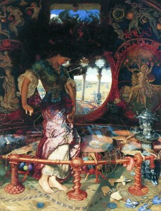 The Lady of Shalott (1905) by William Holman Hunt