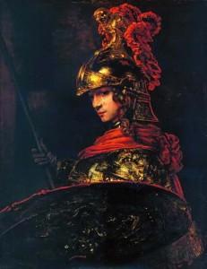 Рембрандт Харменс ван Рейн. Афина Паллада (Александр Великий).