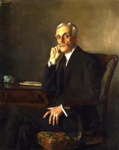 Andrew William Mellon by Sir Oswald Hornby Joseph Birley, 1923