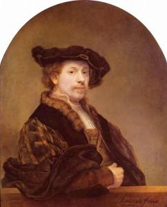 Рембрандт Харменс ван Рейн. «Автопортрет»