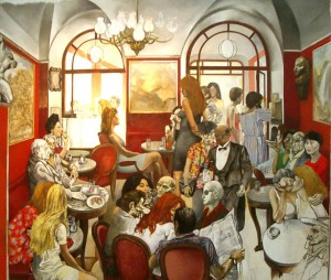 «Кафе «Греко» в Риме»