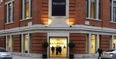 Представительство Phillips de Pury & Company  в  Лондоне