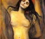 """Эдвард Мунк """"Мадонна"""", 1894 г."""