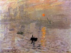 Клод Моне «Впечатление. Восход солнца». Холст, масло. 1872. Музей Мармоттан-Моне, Париж