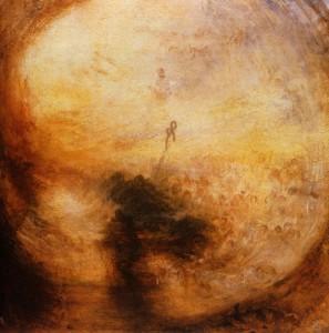 Уильям Тернер «Свет и цвет. Утро после Всемирного потопа». Холст, масло. 1843. Галерея Тейт, Великобритания