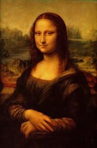 Леонардо да Винчи «Мона Лиза (Джоконда)». Доска, масло. Ок. 1502-1516. Лувр