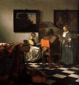 Ян Вермеер «Концерт». Холст, масло. 1664-1667. Музей Изабеллы Стюарт Гарднер, Бостон