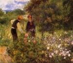 Пьер Огюст Ренуар «Беседа с садовником». Холст, масло. Национальный музей, Стокгольм