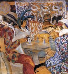 Картина «В ресторане», купленная коллекционером Андреем Васильевым